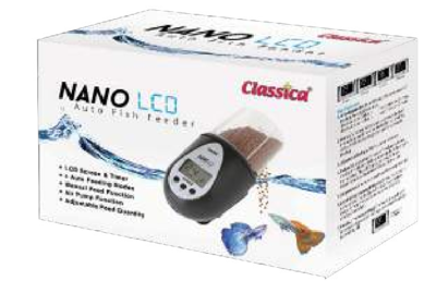 CL NANO LCD AUTO FISH FEEDER