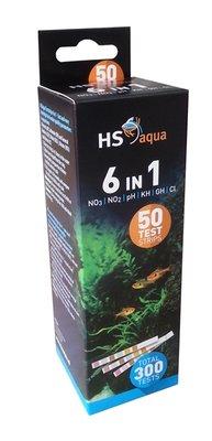 HS AQUA TESTSTRIPS 6-1 á 50 ST.