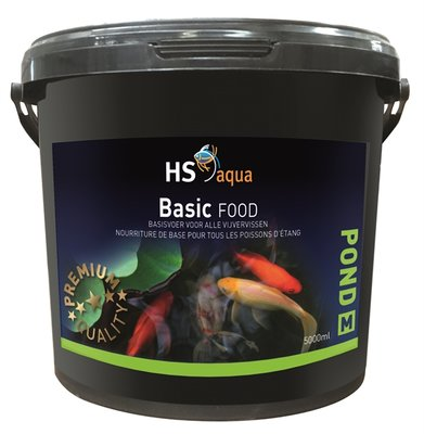 HS AQUA POND FOOD BASIC M 5 L