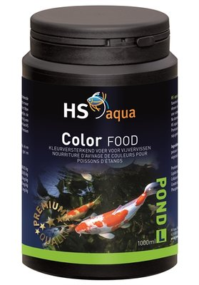HS AQUA POND FOOD COLOR L 1 L