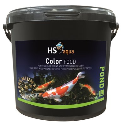 HS AQUA POND FOOD COLOR L 5 L