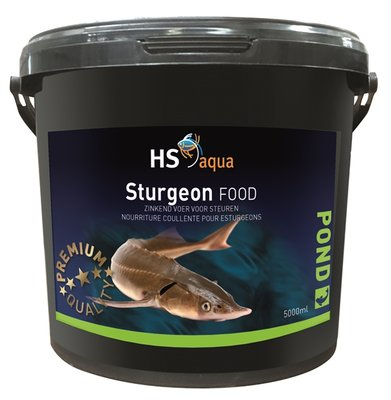 HS AQUA POND FOOD STURGEON 5 L