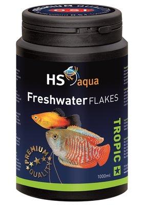 HS AQUA FRESHWATER FLAKES 1000 ML