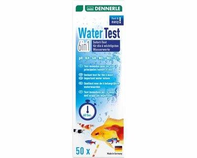 DENNERLE WATERTEST 6 IN 1, 50 ST