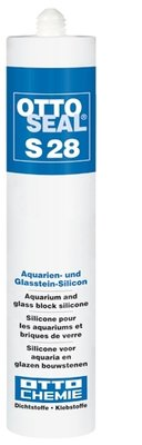 SILICONENKIT AQUARIUM TRANSPARANT 310 ML