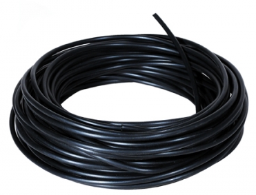 CO2 slang - zwarte silicone 4/6mm