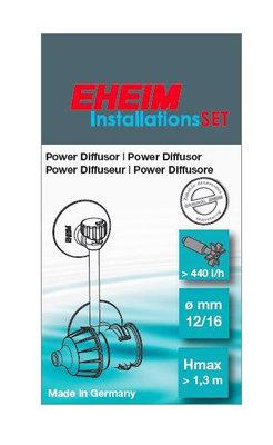 EHEIM 4003651 POWER DIFFUSOR 12/16mm/INSTALLATIESET 2