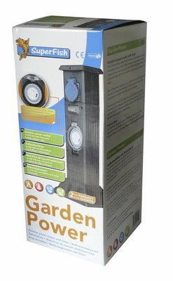 SUPERFISH GARDENPOWER STEKKERDOOS MET TIMER