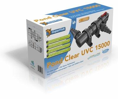 SUPERFISH PONDCLEAR UVC 18W/15.000 LTR