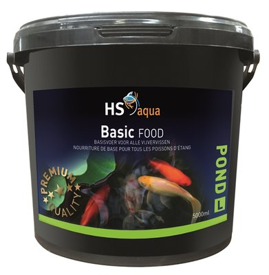 HS AQUA POND FOOD BASIC L 5 L
