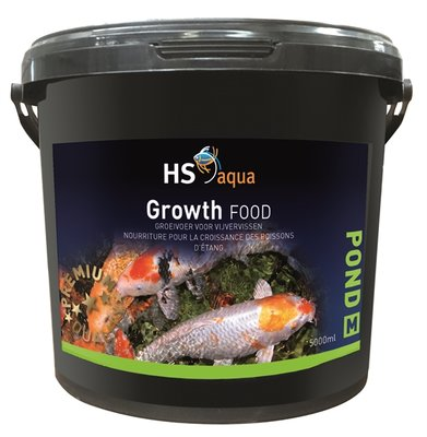 HS AQUA POND FOOD GROW M 5 L
