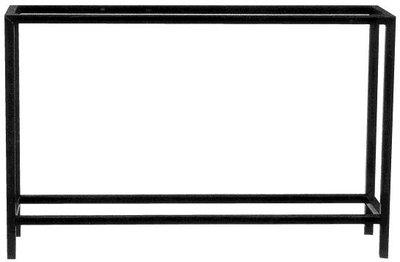 Rechthoekige tafel 130x50x70 buis 30x30