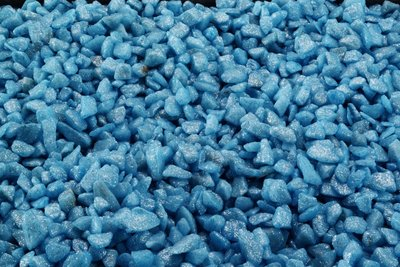 Glamour stone /indian Blauw 6-9MM/2,0KG