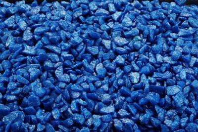 Glamour stone /ocean Blauw 6-9MM/2,0KG