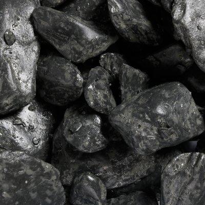 Aquariumgrind pebbles black 2kg