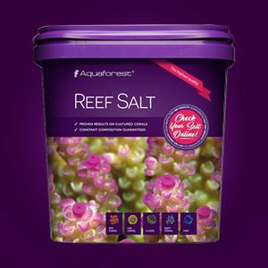Aquaforest Reef Salt 5kg.emmer -  CA 410-430mg  Mg 1320-1350