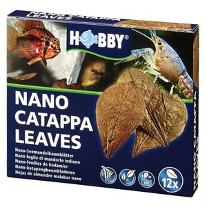 HOBBY Catappa leaves 12 stuks