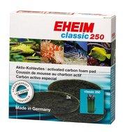 EHEIM KOOLFILTERSCHIJF VOOR CLASSIC 250 3 ST.